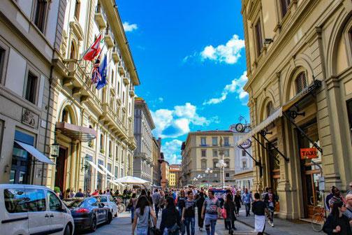 Florenz, Toskana, Italien, Altstadt, Die Traumreiser, Innenstadt