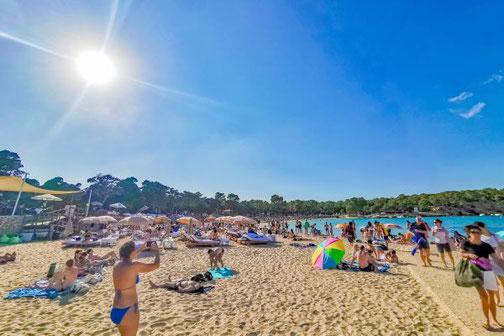 Ibiza, Balearen, Buchten, Strände, Die Traumreiser, Cala Bassa
