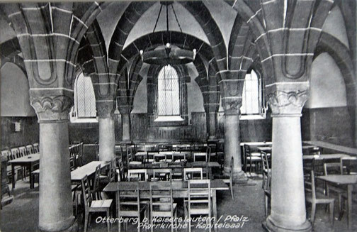 1929-1932  war Kapitelsaal die Gaststätte der Kolpingsfamilie, Bild: Stadtarchiv
