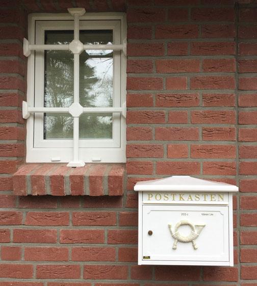 ALLES Klar Sicherheitstechnik: Einbruchschutz Hamburg / Einbau Fenstergitter