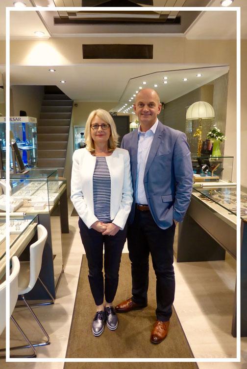 Juwelier Alexander Troncone und Anette Troncone