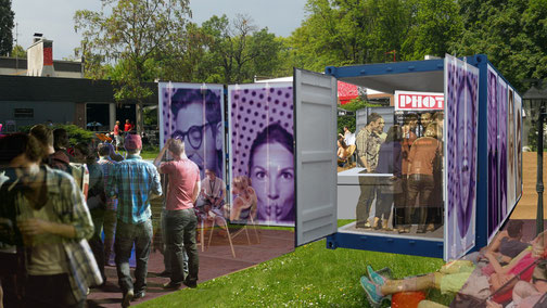 PHOTOBOOTH CONTAINER