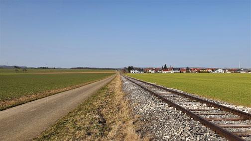 Blick auf Waldhausen...