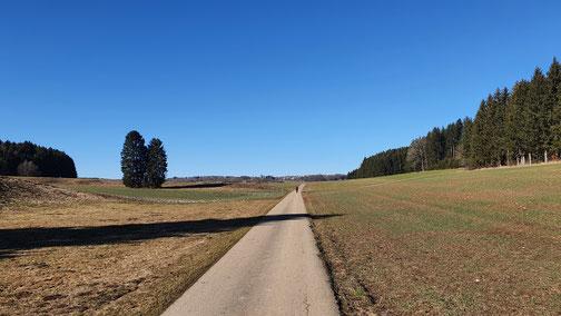Im Wassertal in Richtung Hohenstadt...
