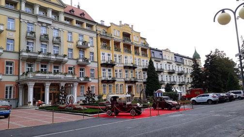 Blick auf der Hotel Pawlik (kann man mit ruhigen Gewissen empfehlen)...