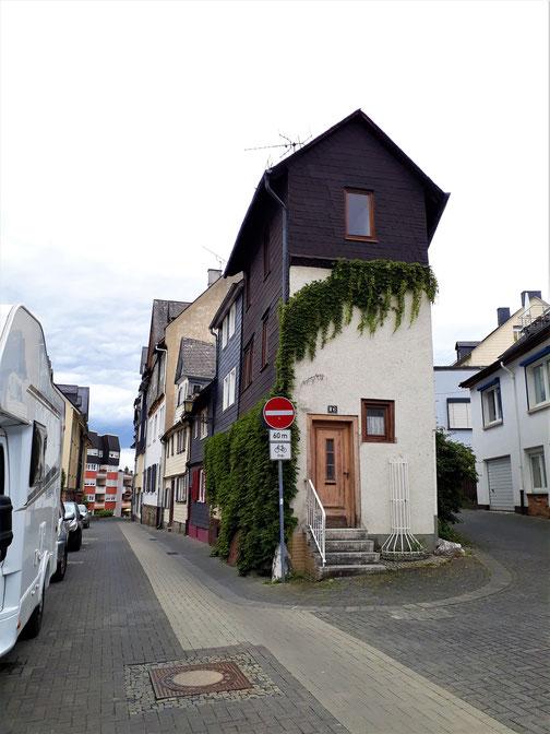 Ein schmales Haus für schmale Menschen...