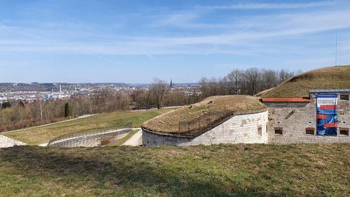 Hoch über der Stadt Ulm...