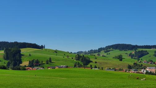 Ich bin begeistert von dieser schönen Landschaft...