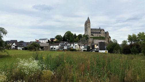 Die Kirche von Dietkirchen (kurz vor Limburg)...