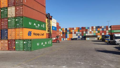 Hamburger Containerhafen?