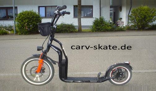 Comfort-Lift: Bio-HYBRID-Scooter, stabil, stark, 16 kg . .