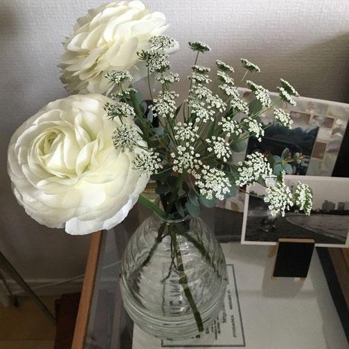 GM‼︎ ポンポン咲きのラナンキュラス可愛いいな♡
