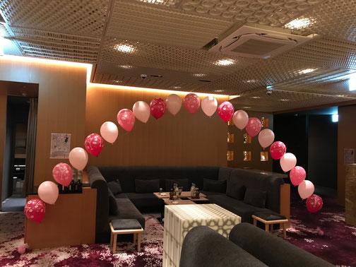 バルーンアーチ 風船 誕生日 発表会 ライブ イベント装飾 開店祝い お祝い