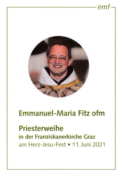 Br. Emmanuel-Maria Fitz OFM Villach (Kärnten)