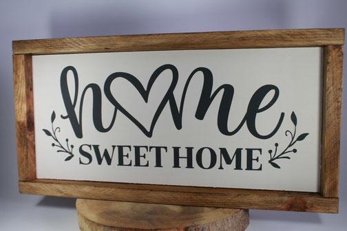 Panneau homme sweet home pour decoration de maison