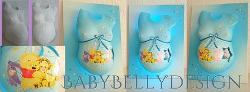 Galerie Babybauchabdruck Babybellydesign Gipsabdruck Vom