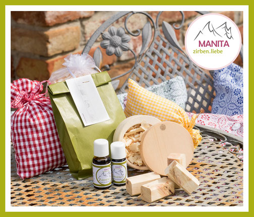 MANITA zirben.liebe 100% rein ätherisches Zirbenöl