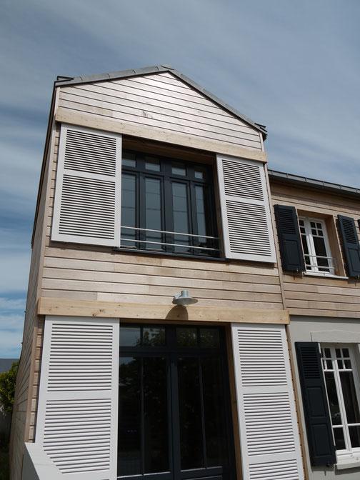 extension bois architecte Fournier