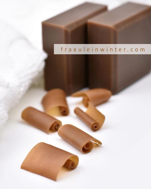 Seife sieden - Kaffeeseife | Fraeulein Winter