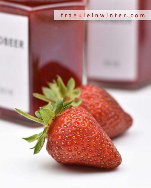 Erdbeermarmelade | Fraeulein Winter