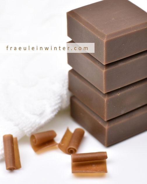 Kaffeeseife selber machen | Fraeulein Winter