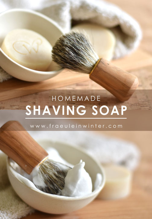Homemade Shaving Soap | Fraeulein Winter