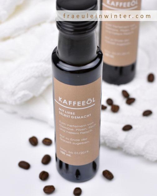Kaffeeöl | Fraeulein Winter