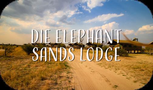 Elephant Sands Lodge, Nata, Botswana, Afrika