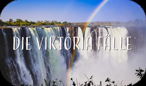 Viktoria Fälle, Simbabwe, Regenbogen, Wasserfall