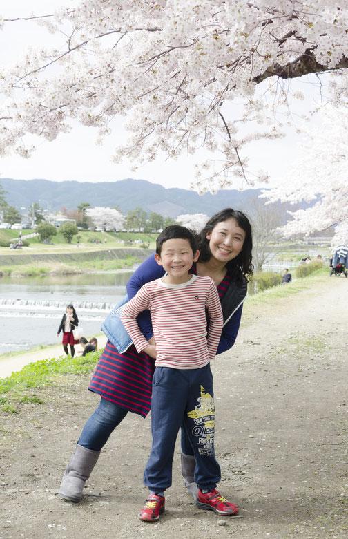 A様ご家族(2015年4月 デジタル撮影)