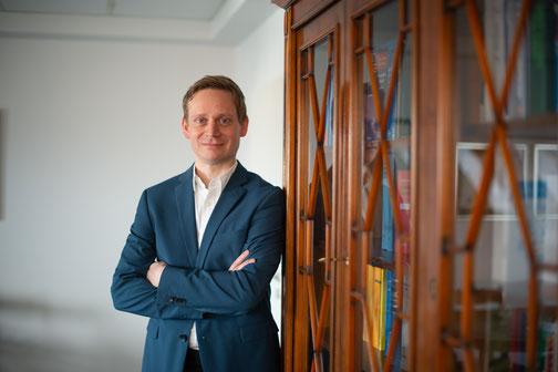 Rechtsanwalt und Notar Benjamin Beckmann - Foto: Andreas Dirbach