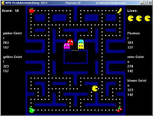 fertiges Pacmanspiel