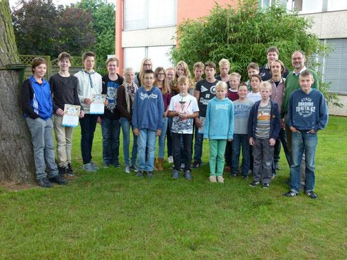 Teilnehmer am Meller Stadtlauf