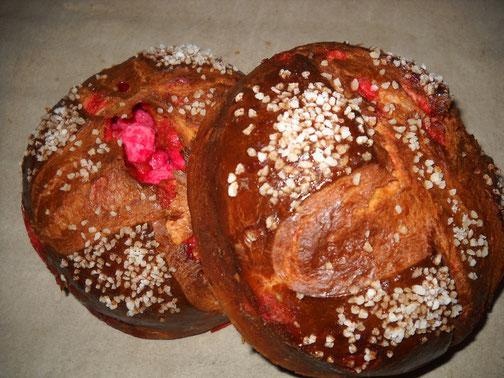 Les brioches Saint-Génix, spécialité viennoiserie de la boulangerie Habert de Selles-sur-Cher
