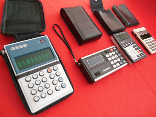 Primeras calculadoras de bolsillo