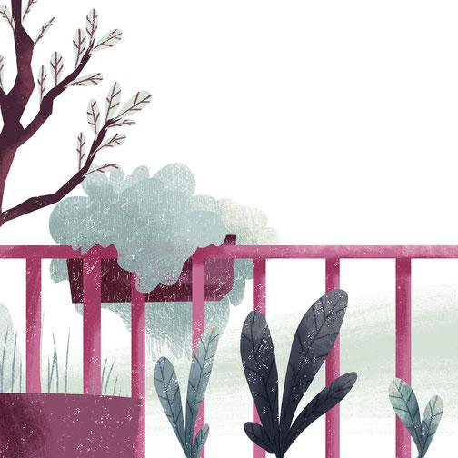 Kinderbuch  Beatriz a árvore feliz