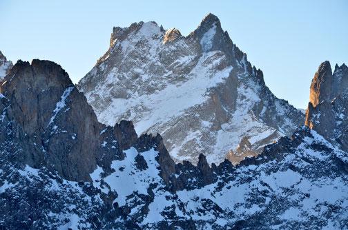 La Grande Ruine vue du massif de la Meije