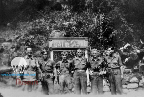 fiveoniners on the Var river valley. Sept. 44. Henry KLIZIEWICZ middle.