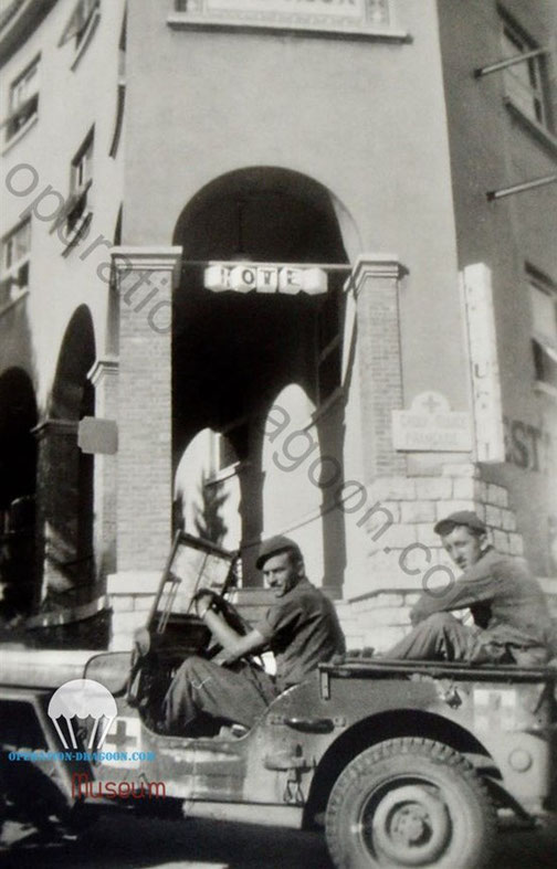 509's member along the riviera.  Oct 1944