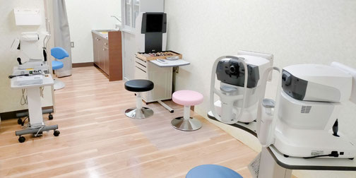 スッキリ綺麗な診察室に改装しました