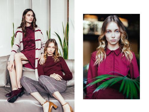 Kleid, Pullover und Hose von style-balance