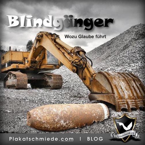 Blindgänger, Bombenentschärfung, 2. Weltkrieg, Glaube, Unglaube, Deutschland, Zukunft