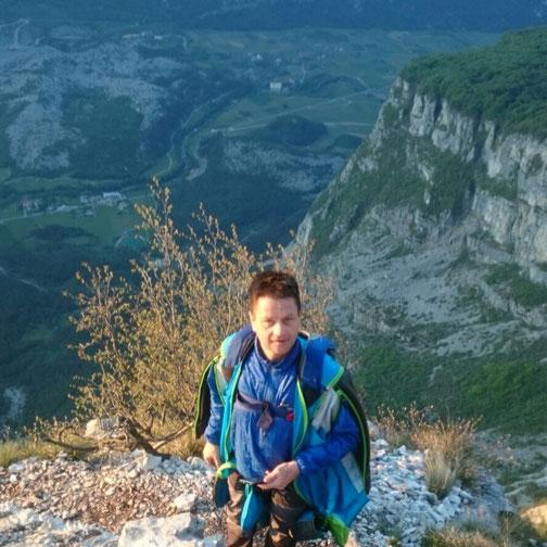 Monte Brento, Gardasee, Italien, Berg, Wingsuit, BASE, BASEjump,