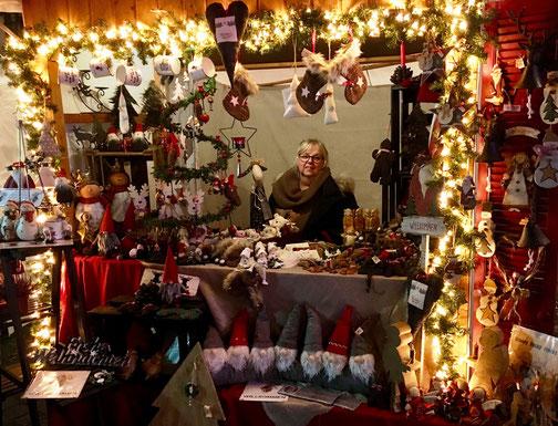 Unser Stand auf dem Weihnachtsmarkt in Heusenstamm 2018