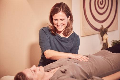 Behandlungsbild CranioSacrale Therapie