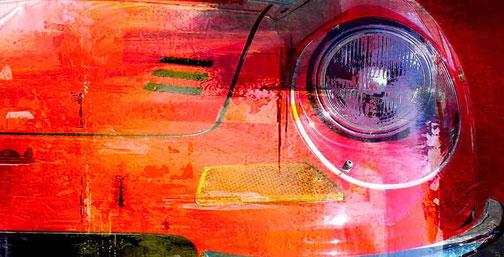 Auto-Ikonen -  schmückende Wanddekoration