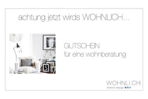 Gutschein wohnberatung wohnlich interior design for Wohnberatung