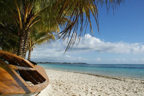 Sandstrand auf Mauritius, immer eine Reise wert!