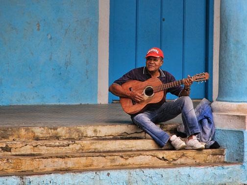Straßenmusiker Kuba