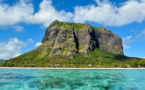 Le Morne Brabant auf Mauritius